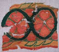 Fragment of a Band with a Floral Motif