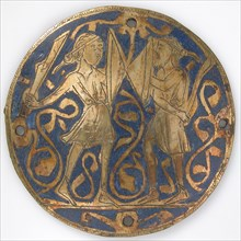 Medallion with Two Warriors