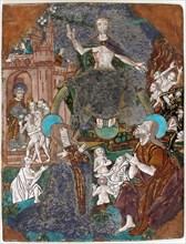 Plaque with the Last Judgement
