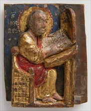 Miniature Relief of Saint John the Evangelist at His Writing Table