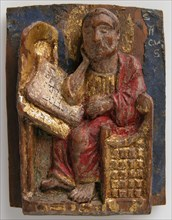 Miniature Relief of Saint Mark at His Writing Table