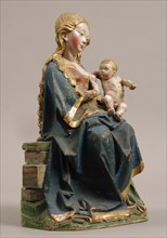 Enthroned Virgin with Nursing Child