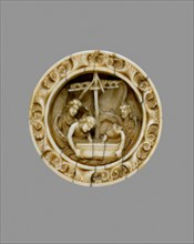 Game Piece with a Scene from the Life of Apollonius of Tyre