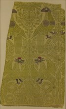 Textile Fragment with brocade with Bird