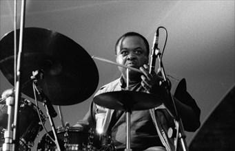 Jeff ?Tain? Watts, Brecon Jazz Festival, Brecon, Wales, Aug 1998.