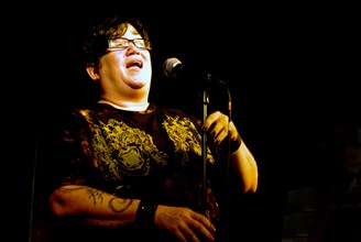 Lea DeLaria, Brunswick, Hove, West Sussex, Nov 2009.