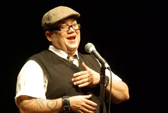 Lea DeLaria, Hawth, Crawley, West Sussex, April 2009.