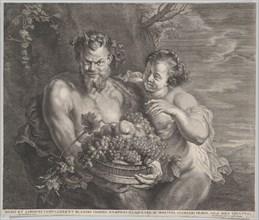 Satyr and Bacchante, ca. 1650-95.