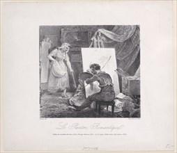 The Romantic Painter (Le Peintre Romantique), 1805-27.