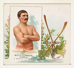 William O'Connor, Oarsman, from World's Champions, Second Series (N43) for Allen & Ginter Cigarettes, 1888.