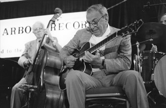 Bucky Pizzarelli, The March of Jazz, Clearwater Beach, Florida, USA, 1997.