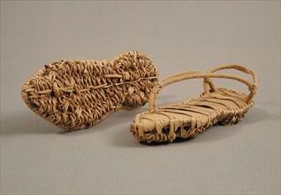 Pair of Sandals, Coptic, 4th-7th century.