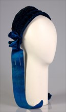 Evening bonnet, American, ca. 1880.