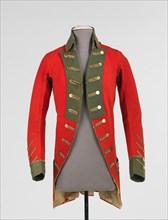 Military coat, American, 1775-83.