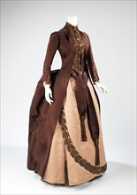 Afternoon dress, French, 1888.