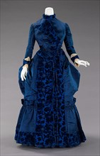 Afternoon dress, French, ca. 1885.