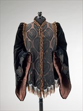 Afternoon jacket, French, 1885-90.