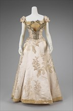Ball gown, French, 1895-1900.