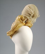 Bonnet, French, ca. 1885.