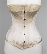 Corset, French, ca. 1885.
