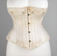 Corset, French, ca. 1890.