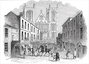 St. Wilfrid Festival, Ripon, 1844. Creator: Unknown.