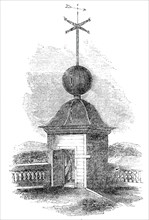 The Time Ball, Royal Observatory, Greenwich, Fig. 2, 1845. Creator: Unknown.