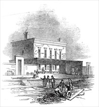 Chesterford Station, 1845. Creator: Unknown.