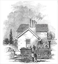 Elsenham Station, 1845. Creator: Unknown.