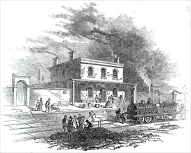 Wendon Station, 1845. Creator: Unknown.