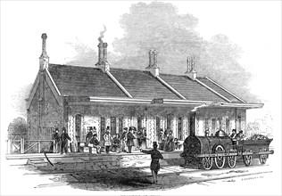 Brandon Station, 1845. Creator: Unknown.