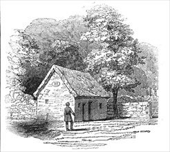Cottage of the Black Dwarf, 1845. Creator: Unknown.
