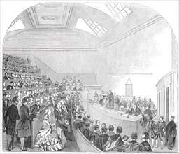 Capping of Doctors of Medicine, at Edinburgh, 1845. Creator: Unknown.