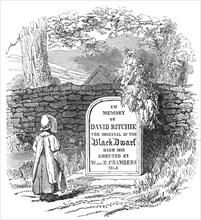 Grave of the Black Dwarf, 1845. Creator: Unknown.