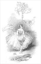 Taglioni's Farewell - by Kenny Meadows, 1845. Creators: Unknown, Joseph Kenny Meadows.