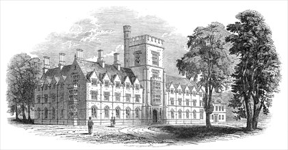 Royal Agricultural College, Cirencester, 1845. Creator: Unknown.