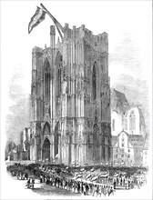 Her Majesty's visit to the Cathedral at Cologne, 1845. Creator: Unknown.