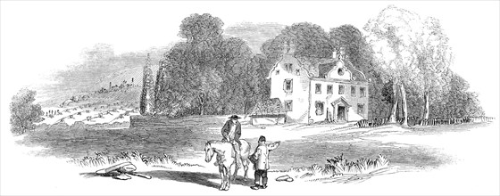 Col. Gardiner's house, and field of Prestonpans, 1845. Creator: Unknown.