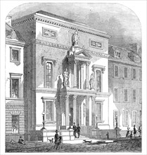 New Physicians' Hall, Edinburgh, 1845. Creator: Unknown.