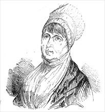 The late Mrs. Fry, 1845. Creator: Unknown.