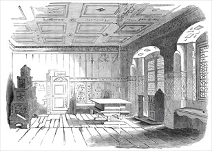Luther's Chamber, at Wittenberg, 1845. Creator: Unknown.
