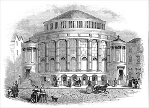 New Baptist Chapel, Leicester, 1845. Creator: Unknown.