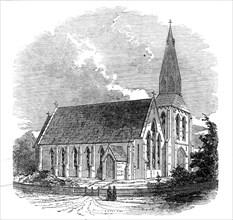 St. Paul's Church, New Zealand, 1845. Creator: Unknown.