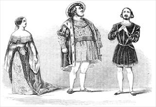 """Scene from """"Anna Bolena"""", at Her Majesty's Theatre, 1844. Creator: Unknown."""