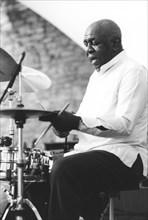 Mickey Roker, Brecon Jazz Festival, Powys, Wales, 1997.