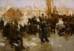 The Departure Of The Fishing Fleet