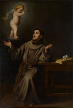 The Vision of St Anthony of Padua