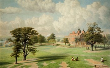 Aston Hall From The Park