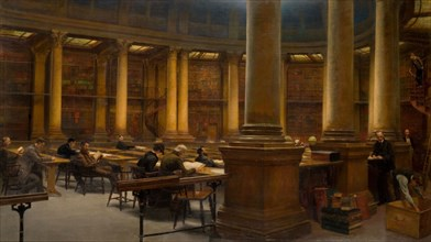 Birmingham Reference Library - The Reading Room
