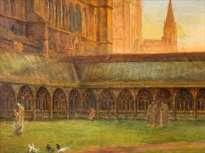 Lincoln Cathedral - The Cloisters